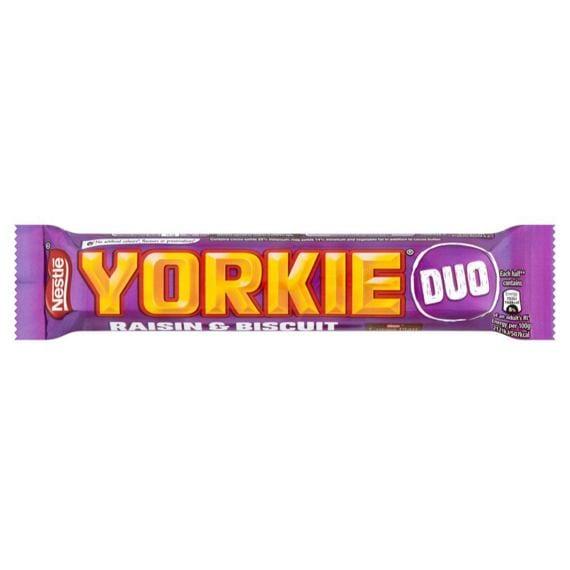 Nestlé Yorkie Raisin & Biscuit Duo 66 g