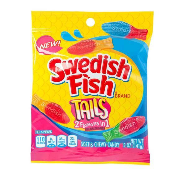 Swedish Fish Tails 141 g