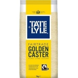 Tate & Lyle Fairtrade Golden Caster Sugar 1 kg