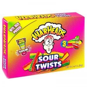 Warheads Sour Twists 99 g