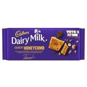 Cadbury Dairy Milk Crunchy Honeycomb 105 g