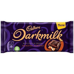 Cadbury Darkmilk Roasted Almonds 85 g