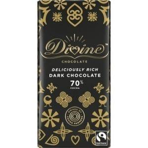 Divine 70% Dark Chocolate 90 g