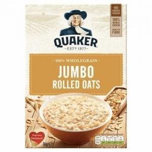Quaker Jumbo Oats 1 kg
