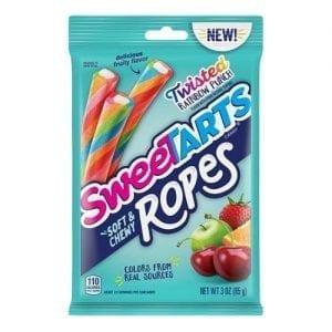SweeTarts Ropes Twisted Rainbow Punch 85 g