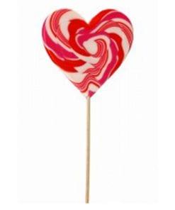 Felko Spiral Heart Pop Red & White 80 g