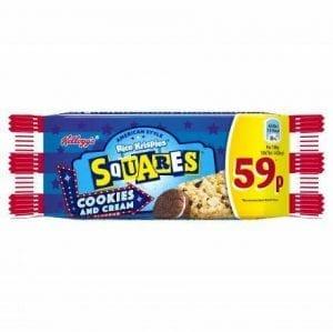 Kellogg's Rice Krispie Squares Cookies & Cream 34 g