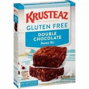 Krusteaz Gluten Free Supreme Brownie Mix Double Chocolate 566 g