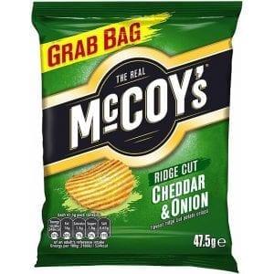 McCoy's Cheddar & Onion 47,5 g