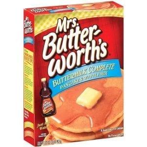 Mrs. Butterworth's Complete Buttermilk Pancake Mix 907 g
