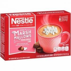 Nestlé Hot Cocoa Mix Mini Marshmallow 121,2 g