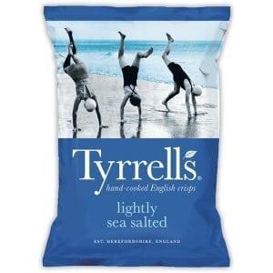 Tyrrells Lightly Sea Salted 150 g
