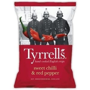 Tyrrells Sweet Chilli & Red Pepper 150 g