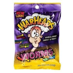 Warheads Sour Worms 142 g
