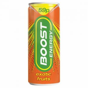 Boost Energy Exotic Fruit PM 250 ml