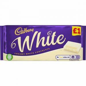 Cadbury White 90 g PM