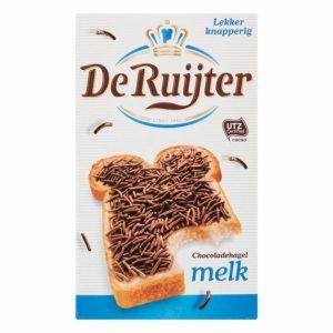 De Ruijter Chocoladehagel Melk 390 g