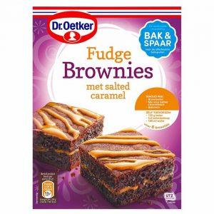 Dr. Oetker Brownies Salted Caramel 305 g