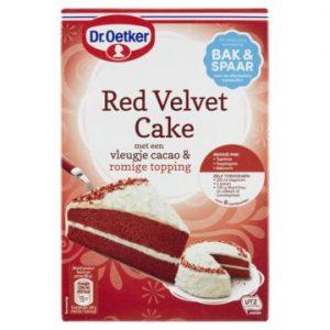 Dr. Oetker Red Velvet Cake 293 g