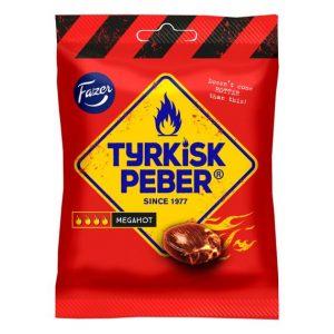 Fazer Tyrkisk Peber Megahot 120 g
