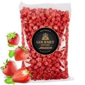 Gourmet Popcorn Jahoda 100 g