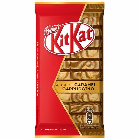 KitKat Caramel Cappuccino 112 g