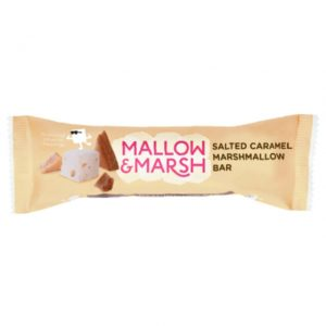 Mallow & Marsh Salted Caramel Marshmallow Bar 30 g