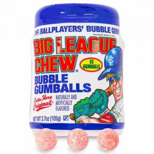 Big League Chew Mini Gumball To Go Cup 105 g