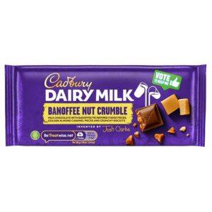 Cadbury Dairy Milk Banoffee Nut Crumble 110 g