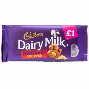 Cadbury Dairy Milk Fruit + Nut Chopped 95 g PM