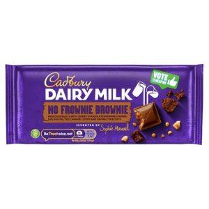 Cadbury Dairy Milk No Frownie Brownie 110 g