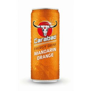 Carabao Mandarin Orange Energy Drink 330 ml