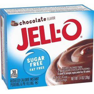 Jell-O Sugar Free Dessert Mix Chocolate 39 g