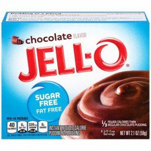 Jell-O Sugar Free Dessert Mix Chocolate 59 g