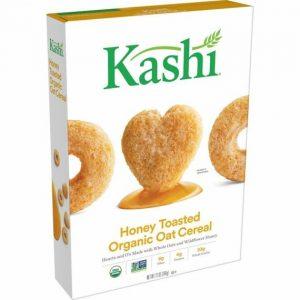 Kashi Honey Toasted Organic Oat Cereal 340 g