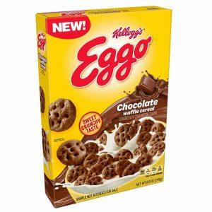 Kellogg's Eggo Waffle Cereal Chocolate 249 g