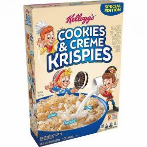 Kellogg's Krispies Cookies & Creme 340 g