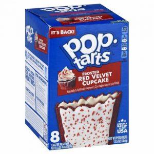 Kellogg's Pop-Tarts Frosted Red Velvet Cupcake 384 g