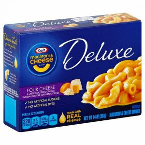 Kraft Deluxe Four Cheese 397 g