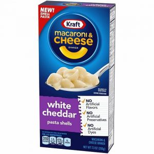 Kraft Macaroni & Cheese White Cheddar 207 g