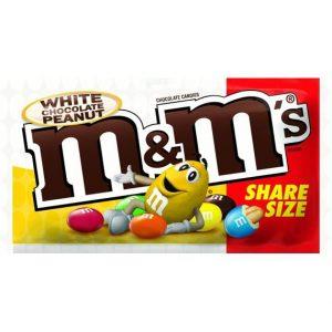 M&M's White Chocolate Peanut 79,4 g