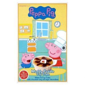 Peppa Pig Muddy Puddle Cupcake Mix 195 g