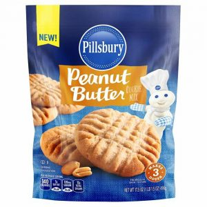 Pillsbury Cookie Mix Peanut Butter 496 g