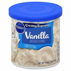 Pillsbury Creamy Supreme Frosting Vanilla 453 g