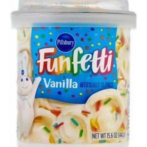 Pillsbury Funfetti Frosting Vanilla 442 g