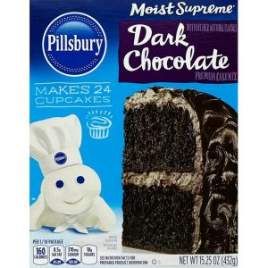 Pillsbury Moist Supreme Cake Mix Dark Chocolate 432 g