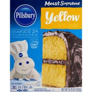 Pillsbury Moist Supreme Premium Cake Mix Yellow 432 g