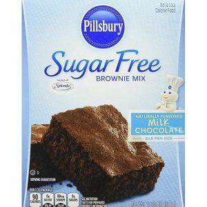 Pillsbury Sugar Free Brownie Mix Milk Chocolate 350 g
