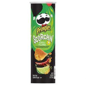 Pringles Scorchin' Chili & Lime 158 g