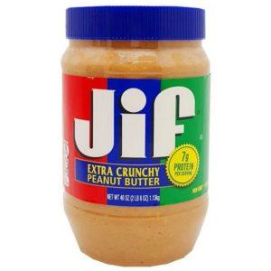 JIF Extra Crunchy Peanut Butter 1,13 kg